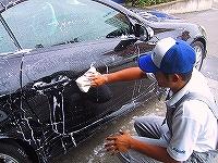 名張の自動車の内装、外装の修理、修復や板金、塗装もすべてお受け致します。板金